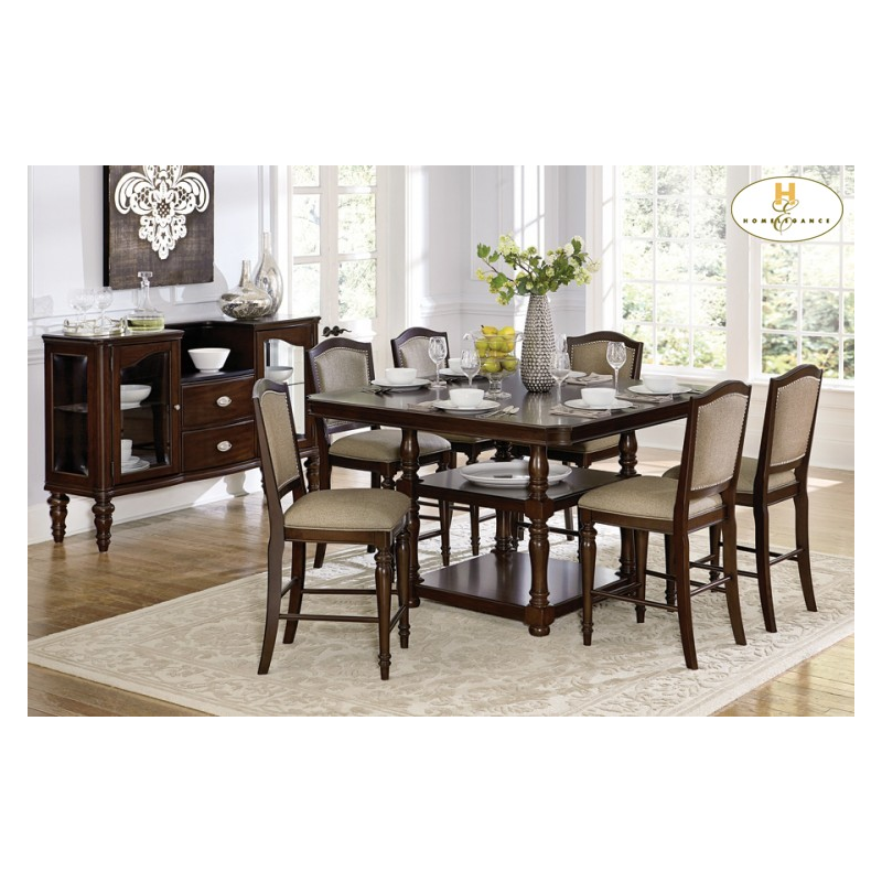 home dining room marston 5 pc dining table