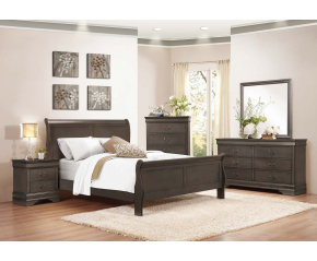 Louis 4PC Queen Bedroom Set