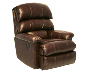 Catnapper Templeton Leather Power Wall Hugger Recliner