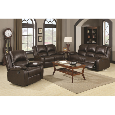 Boston Reclining Sofa Loveseat