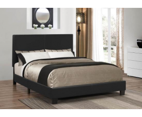Muave Upholstered Bed