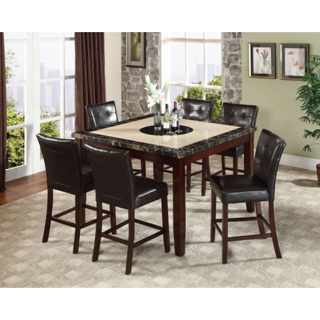 Chicago 7PC Counter Height Dining Set