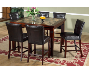 Duncan 7 PC Counter Height Dining Set