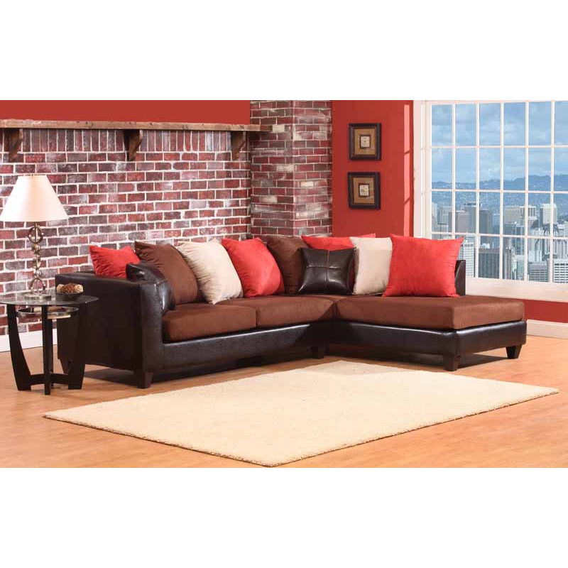 Pillows For Sectional Sofa: Delta Sectional Sofa