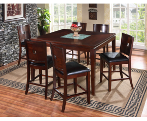 Roma 7PC Counter Height Dining Set