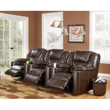 SIGNATURE DESIGN BY ASHLEY PARAMOUNT DURABLEND® - BRINDLE 3-PIECE RECLINING HOME THEATER GROUP  sc 1 st  Welchu0027s Furniture & DESIGN BY ASHLEY PARAMOUNT DURABLEND® - BRINDLE 3-PIECE RECLINING ... islam-shia.org