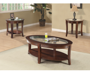 Calypso 3 PC Coffee Table Set