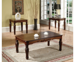 Woodcrest 3PC Occasional Table Set