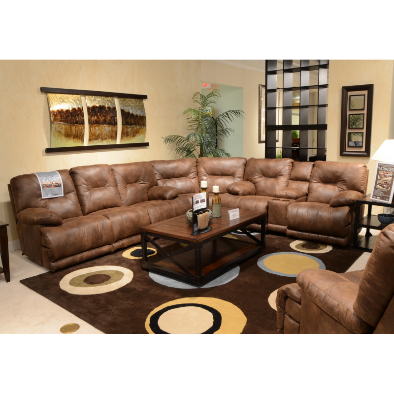 Voyager Power Reclining Sectional Sofa By Catnapper  sc 1 st  Welchu0027s Furniture : power reclining sectional sofa - Sectionals, Sofas & Couches