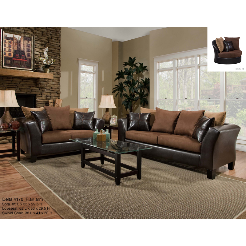delta sofa loveseat. Black Bedroom Furniture Sets. Home Design Ideas