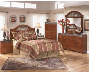 Fairbrooks Estate 5PC Panel Bedroom Set