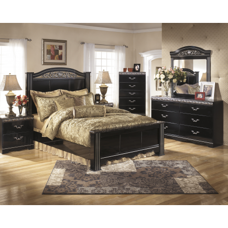 Constellations Poster 4PC Bedroom Set By Signature Design By Ashley