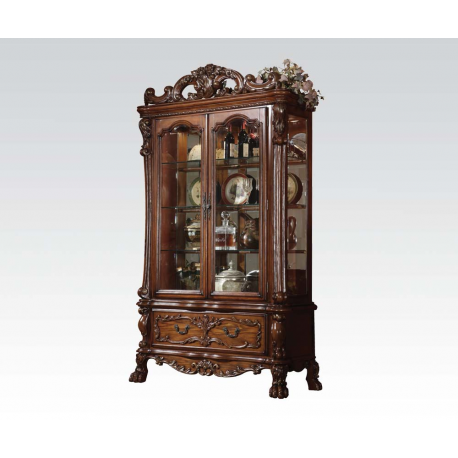 Dresden Cherry Oak Curio