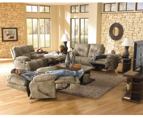 Voyager Power Reclining Sofa & Loveseat By Catnapper