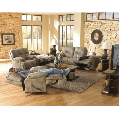 Beau Voyager Power Reclining Sofa U0026 Loveseat By Catnapper