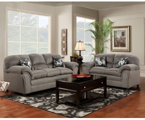 Victory Lane Dolphin Sofa & Loveseat