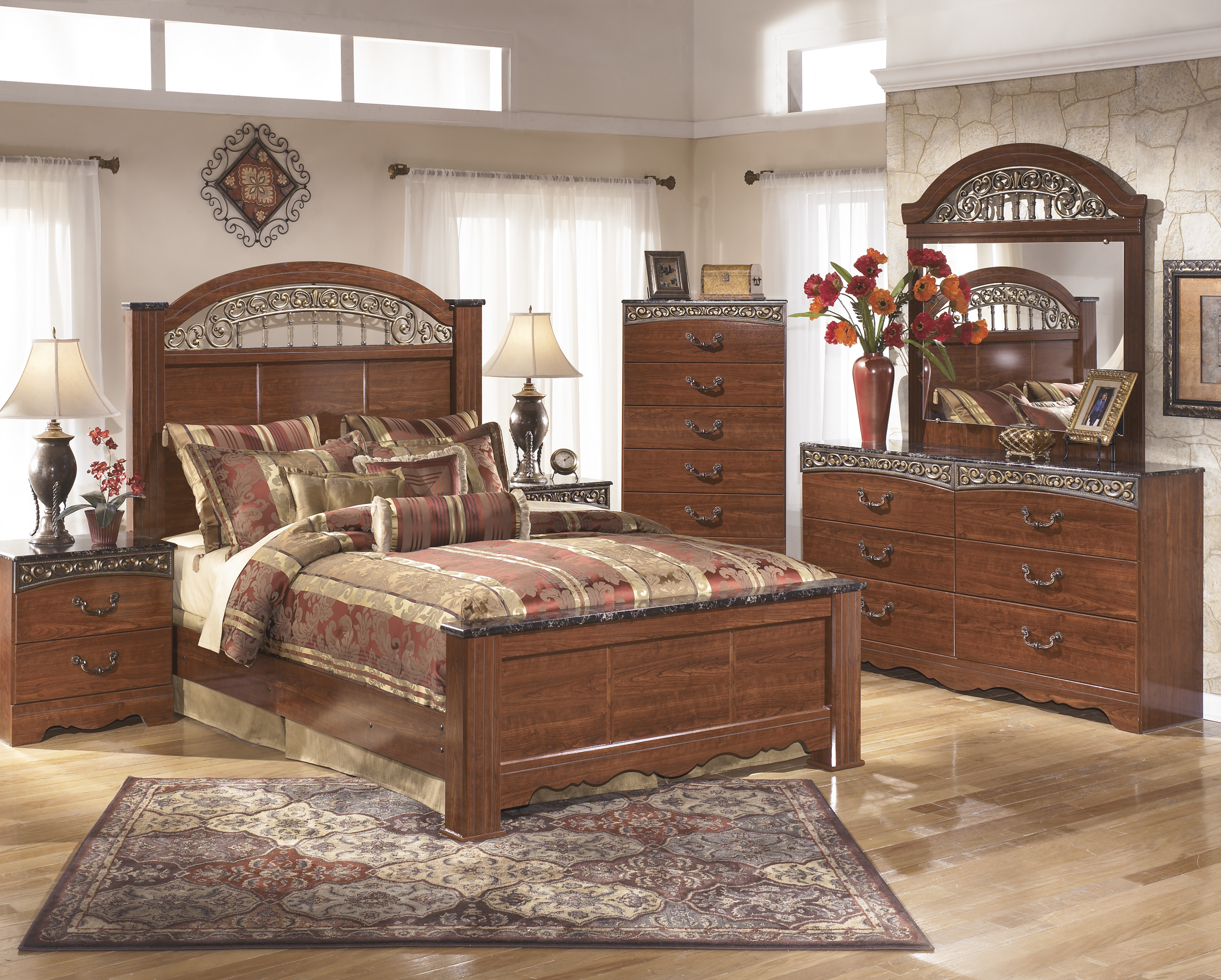 fairbrooks estate pc poster bedroom set queen bedroom sets orlando cavallino queen storage bedroom set ashley furniture