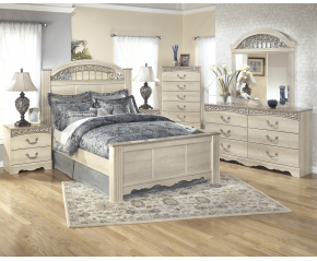 Ashley Catalina Poster 5PC Bedroom Set