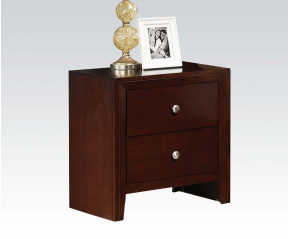 Ivanna Brown Cherry Nightstand