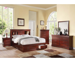 Louis Philippe III 5PC Bedroom Set