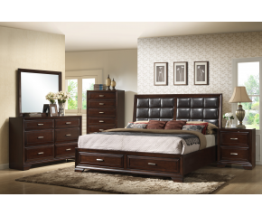 Jacob Bedroom Set By Crown Mark