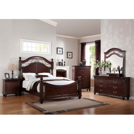Cleveland 4PC Bedroom Set