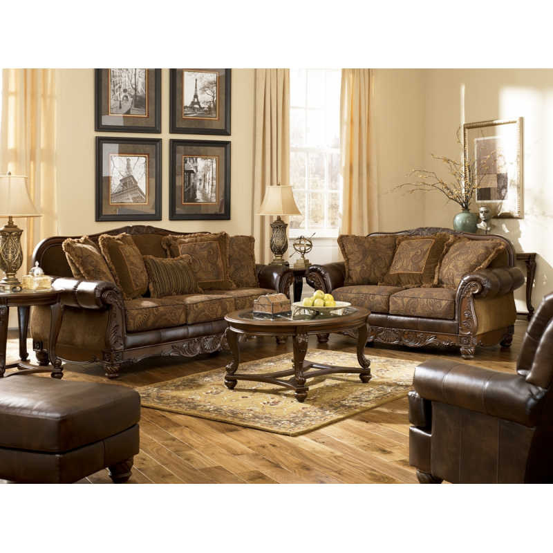 Ashley Fresco DuraBlend® Sofa & Loveseat