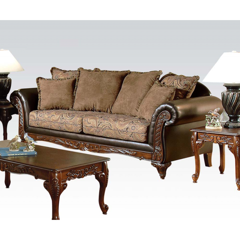 Serta Ronalynn Sofa Loveseat In San Marino Chocolate: sofa loveseat
