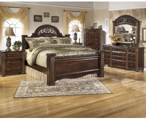 Gabriela 4PC Bedroom Set