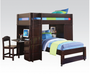 Lars Loft Twin Bunk Bed