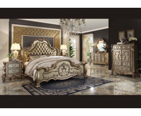 Dresden Gold 4PC Bedroom Set