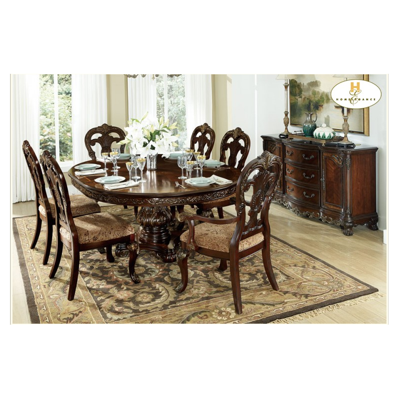 high end living room sets deryn park 7pc dining set 21315