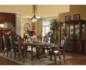Vendome Cherry 9PC Formal Dining Set