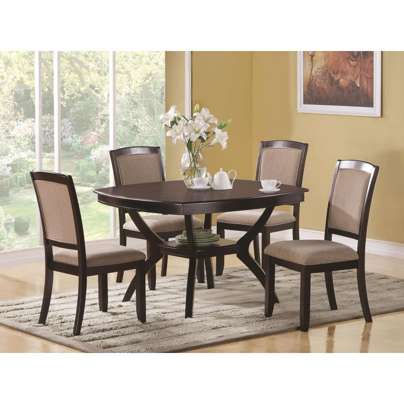 Memphis Side Dining Chair with Upholstered Seat and Back