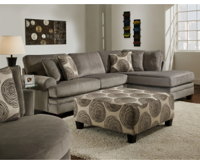 Groovy Swirl Sectional Sofa
