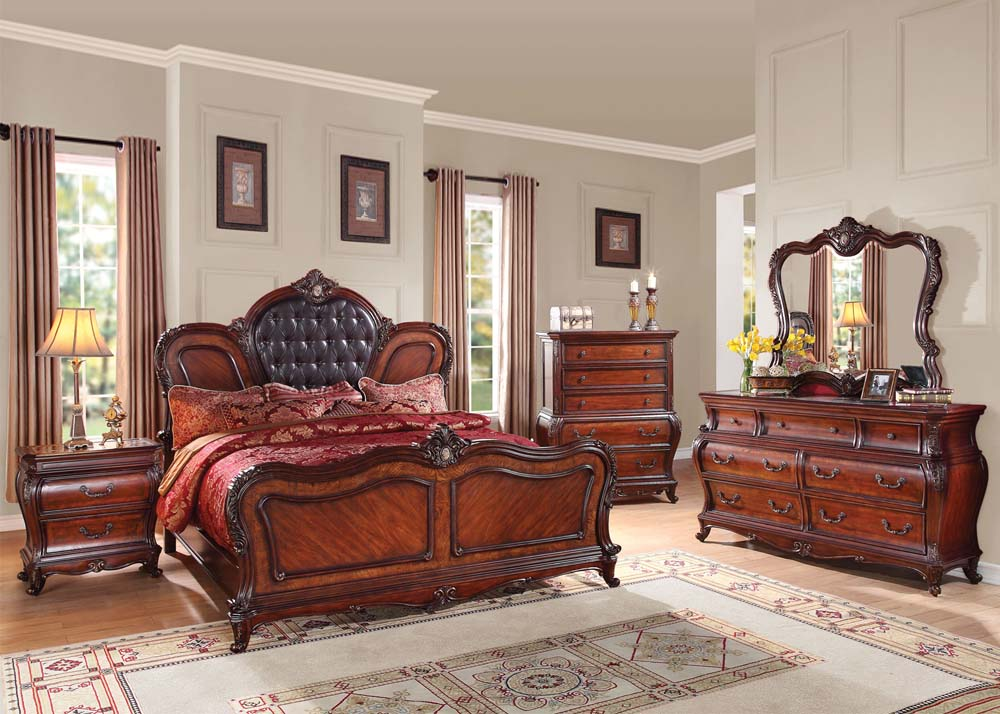 . Dorothea 4PC Bedroom Set
