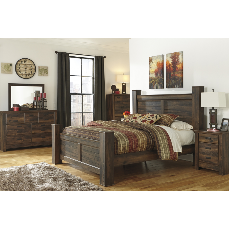 Quinden 4pc Bedroom Set