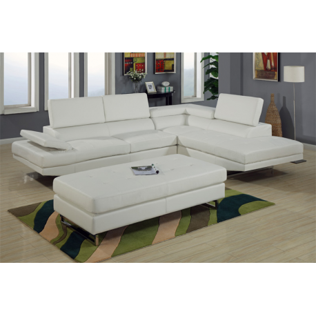 Milan Modern Sectional Sofa