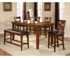 Pub 6 PC Dining Table